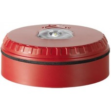 Beacon with red housing and red flash color for wall mounting - SOL-LX-W-RR
